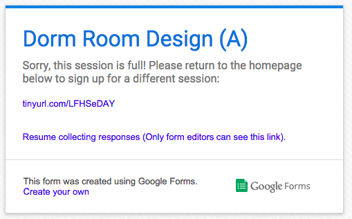 Google Forms + Add-ons = An Awesome Event Registration